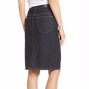 9d86be26b6 Ag Adriano Goldschmied Skirts | Ag Emery High Waist Denim Skirt ...